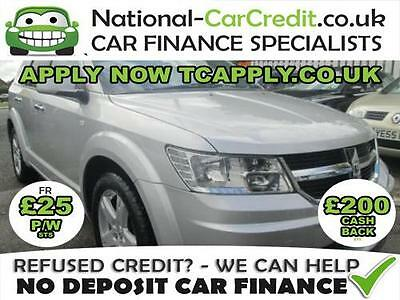 Bad Credit Car Finance 2010 (10) Dodge Journey 2.0 Crd Rt