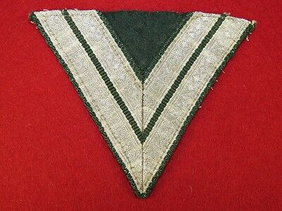 German Wehrmacht sleeve rank tab for obergefreitor.