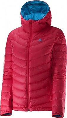 Salomon Giacca Piumino Donna Halo Hooded Jacket II W, Lotus Pink (Size M)