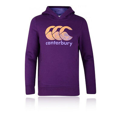 Canterbury Oyh Ccc Princess Seam Junior Filles Violet Manche Longue Hoody Top