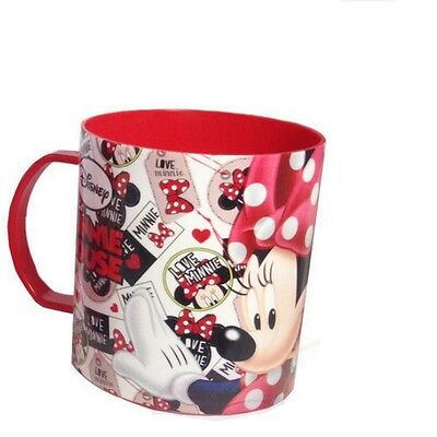 Tasse Minnie Disney mug plastique gobelet enfant rouge new
