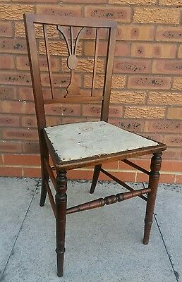 Antique Small bedroom  chair mohogany