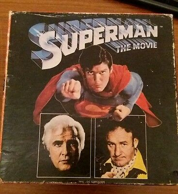 superman super 8 reel with sound and colour