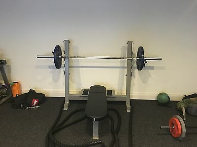 Commercial Heavy Duty Olympic Flat Weight Bench