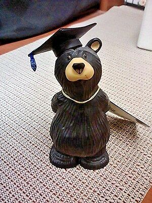 Newton Graduate Bear by Big Sky Carvers ( Bearfoots) in early 2000's