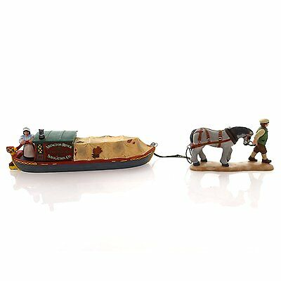 Department 56** Dickens Village** Abington Canal Boat **Set of 2 #58522