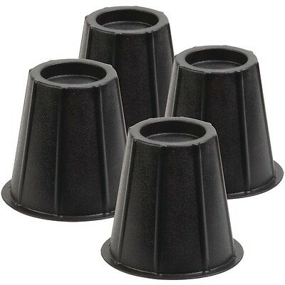 "HONEY-CAN-DO STO-01004 6"" Round Bed Risers, Set of 4"