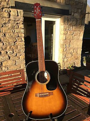 Takamine Electro Acoustic Guitar EF340S Japanese Classic REDUCED
