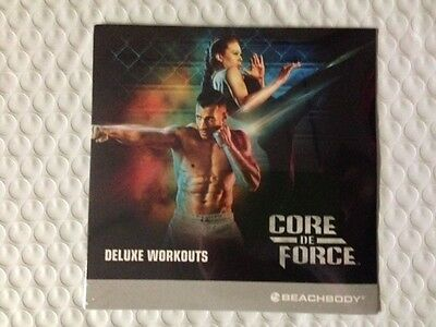 Core De Force DVD only Fitness Workout NEW MANUFACTURER SEALED