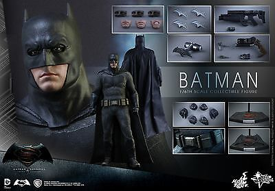 Hot Toys 1/6 Batman V Superman Dawn Of Justice Mms342 Bruce Wayne Action Figure