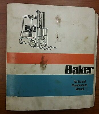 baker forklift wiring diagram 1 tai do de \u2022baker fork lift truck ftd 040 part maintenance service manual 1831 rh picclick com y402 yard chief forklift wiring diagram komatsu forklift diagram