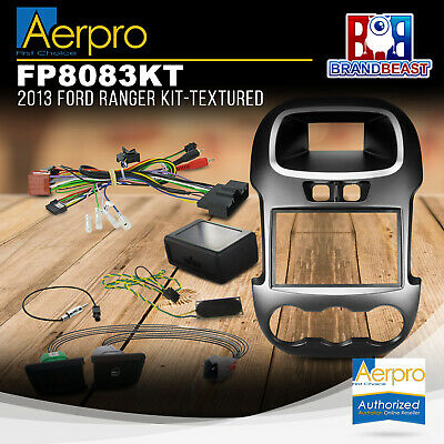 Aerpro Double Din Instalation Kit For Ford Ranger 2012 - 2015 Px Facia Swc