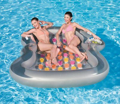 Gift INTEX Inflatable Pool Toy Ride On Float Water Turtle Rider #57524