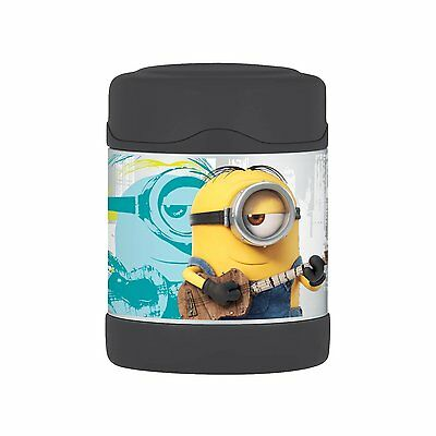 Minions Thermos Stainless Kids 10oz Insulated Leak Prf Funtainer Food Jar NEW