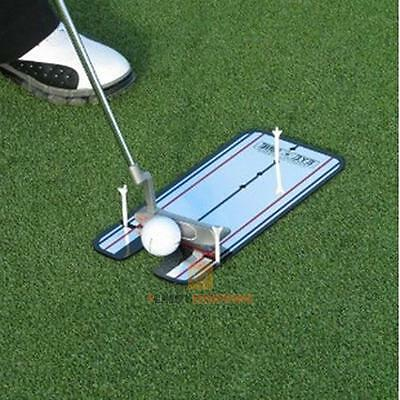 Golf Putting Mirror Training Alignment Practice Aid Swing Trainer Eye Line