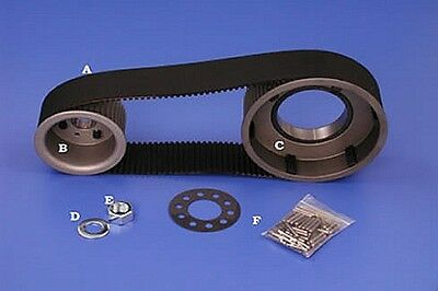 "BDL 3"" Wide 8MM Belt Drive Kit - Kick Start BT Models From 1955 TO 1984"