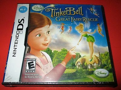 Disney Fairies:Tinker Bell and the Great Fairy Rescue Nintendo DS-DSi-Lite-3DS