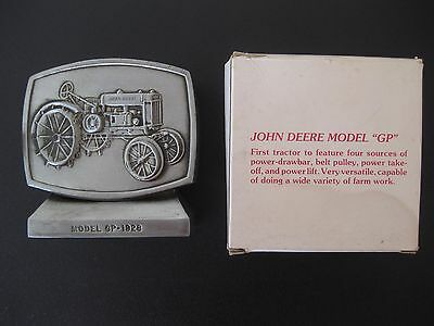 "John Deere Employees Credit Union Model ""GP"" 1928 Cast Bank Fifth Edition 1982"