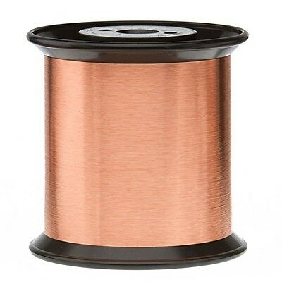 """Remington Industries 44SNS 44 AWG Magnet Wire, Enameled Copper Wire, 0.0022"""""""