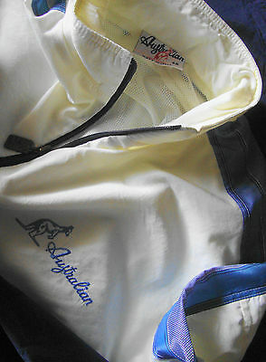 JACKET  vintage 80's AUSTRALIAN by l' Alpina TG.48 - L/XL circa  made in Italy