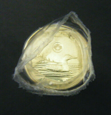 2013 Canada $1 Regular Loonie Coin Original Roll Dollar Brilliant Uncirculated