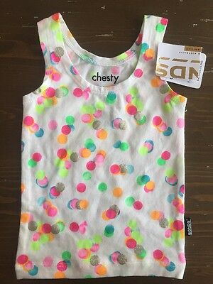 Bonds Christmas 2014 Confetti Chesty Size 000 New
