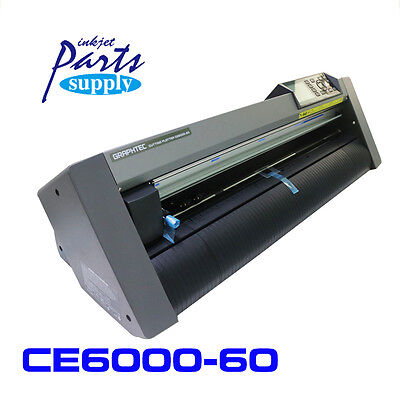 "Original Graphtec 24"" Cutting Plotter Inkjet Printer Vinyle Cutter CE6000-60 New"