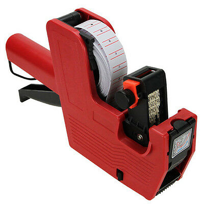 MX-5500 EOS 8 Digits Price Tag Gun Labeler Labeller + 5000 labels +1 Ink BY