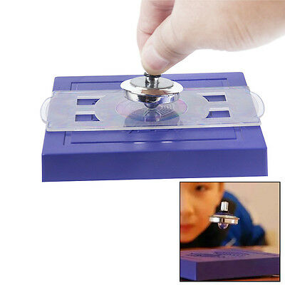 Magnetic Levitation Spinning Gyroscope Suspension Science Toy HOT