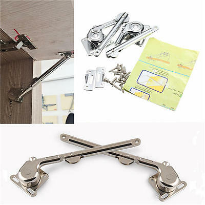 Lift Up Strut  Lid Support Flap Door Stay Hydraulic Stays for Kitchen Cupboard C
