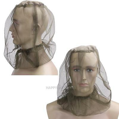 Mosquito Moist Insect Midge Bug Mesh Head Net Face Protection Travel Camping