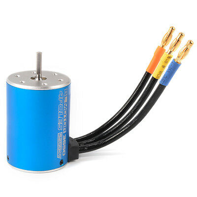 New 4Poles 5200KV Brushless Motor for 1/10 RC Remote Control Car Boat RC236