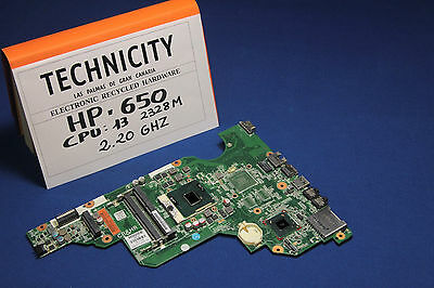 HP 650 - MAINBOARD - MOTHERBOARD - PLACA MADRE - CPU INTEL i3