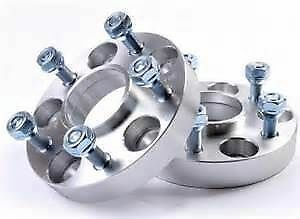 4x 30mm Hubcentric Aluminium Wheel Spacers Range Rover Sport Discovery 3 4