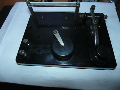 Grimmer - Wilson No.10A / 726 Morse code key and trainer. WW1,WW2,ham radio