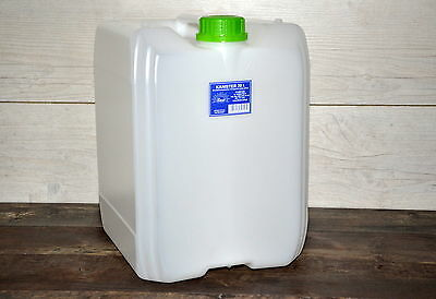 Water storage container 20L Camping Canister Garden Tank Bottle Can Food Grade