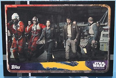 Topps Star Wars Rogue One Karte Nr.139