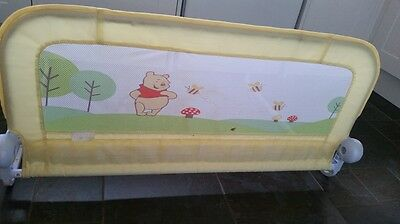 Summer Winnie the Pooh Unisex Baby/Toddler/Infant Cotbed Guard Bedrail