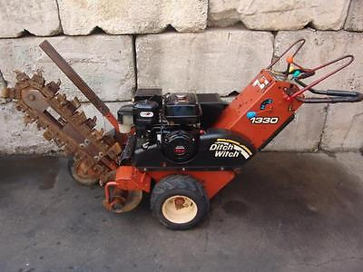 Ditch Witch 1330 Walk Behind Trencher 13Hp Honda Motor Works Great #2