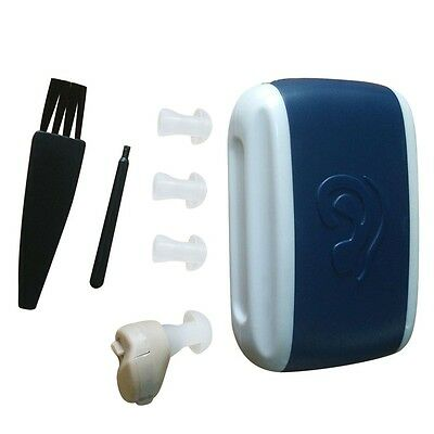 New Small In-Ear Voice Sound Amplifier Adjustable Tone Mini Hearing Ear Aid ZT