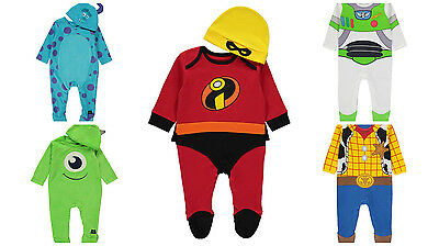 Disney Licensed Baby Costume fancy dress up Sulley Mike Buzz Woody BNWT George