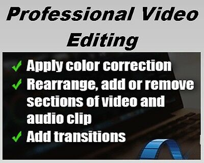 Professional Video Editing Let Us Sort Out All Your Video Editing Hassles