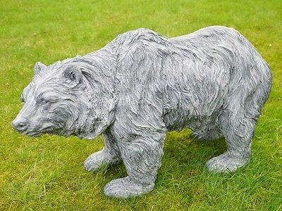 Vintage Wild Bear Outdoor Garden Art Sculpture Statue Animal Ornament Large 62cm