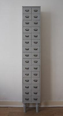 Haberdashery wooden industrial filing cabinet