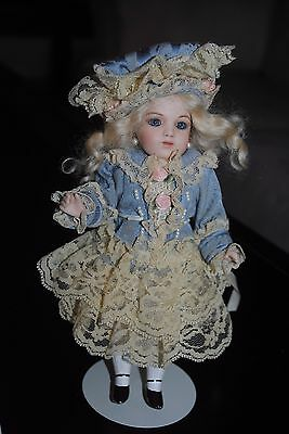 Antique Bisque 8' Petite French Bebe Bru Doll Reproduction