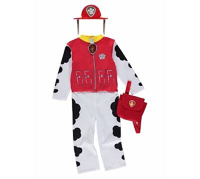 New George Paw Patrol Marshall Childrens Fancy Dress Costume Outfit