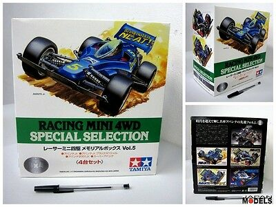 RACING MINI 4WD SPECIAL SELECTION VOL.5 Avante Collection Tamiya 94561 1/32 New