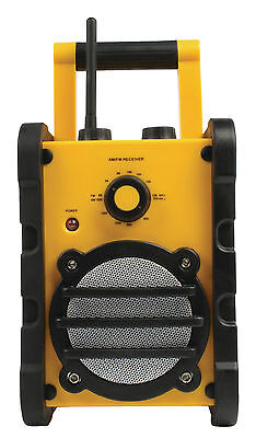 HEAVY DUTY Water Resistant Portable FM AM RADIO Construction Site - BRAND NEW