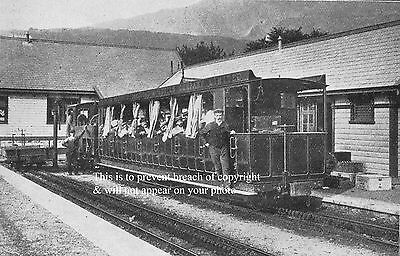 Photo Of Snowdon Mountain Railway At Llanberis Station About 1900