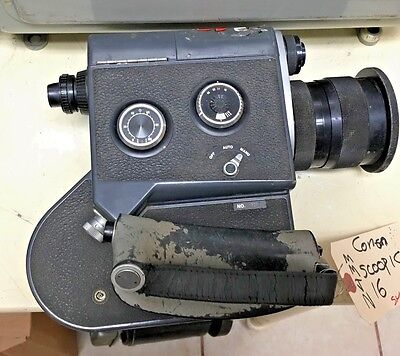 Cannon Scopic 16mm Cine Camera with 12-76mm Zoom lens